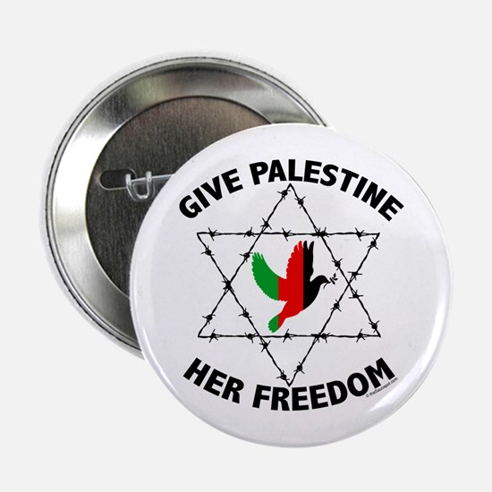 "Unique Anti israel 2.25"" Button"