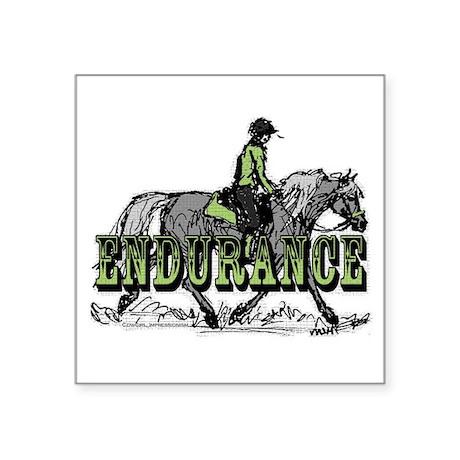 Endurance Horse Sticker