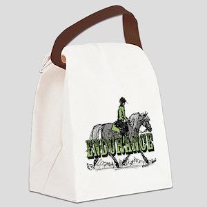 Endurance Horse Canvas Lunch Bag