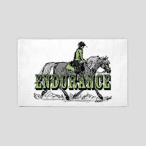 Endurance Horse 3'x5' Area Rug
