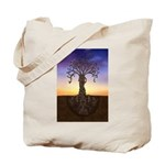 Tree Of Life and Death Tote Bag