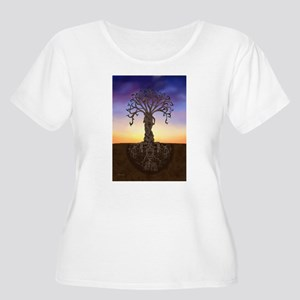 Tree Of Life and Death Plus Size T-Shirt