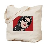 Retro Red Tote Bag