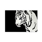 Tiger 03 Rectangle Magnet