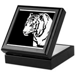 Tiger 03 Keepsake Box