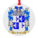 Blud Round Ornament