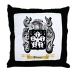 Blower Throw Pillow