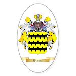 Blount Sticker (Oval 50 pk)