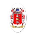 Blosser 35x21 Oval Wall Decal