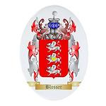 Blosser Ornament (Oval)