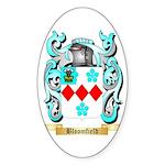 Bloomfield Sticker (Oval 50 pk)