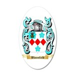 Bloomfield 20x12 Oval Wall Decal