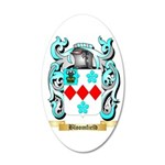 Bloomfield 35x21 Oval Wall Decal