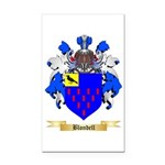 Blondell Rectangle Car Magnet