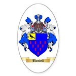 Blondell Sticker (Oval 50 pk)