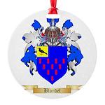 Blondel Round Ornament