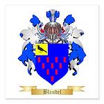 Blondel Square Car Magnet 3