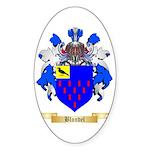 Blondel Sticker (Oval 10 pk)