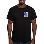 Blomme Men's Fitted T-Shirt (dark)