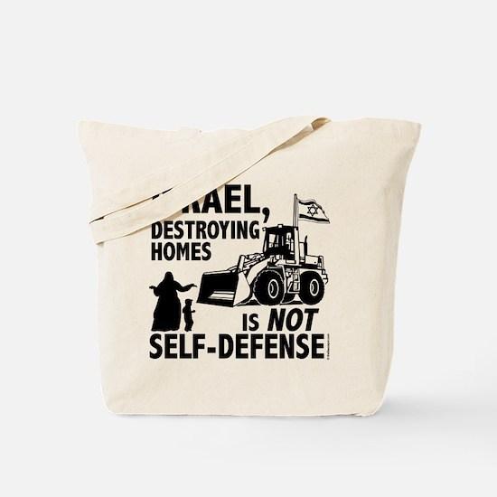 Funny Anti israel Tote Bag