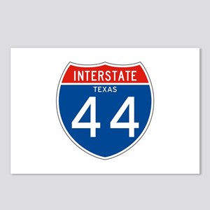 Interstate 44 - TX Postcards (Package of 8)
