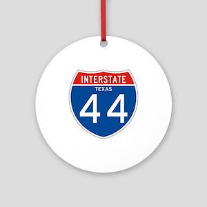 Interstate 44 - TX Ornament (Round)