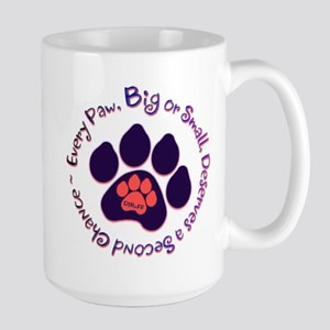 Every Paw ~ Large Mug