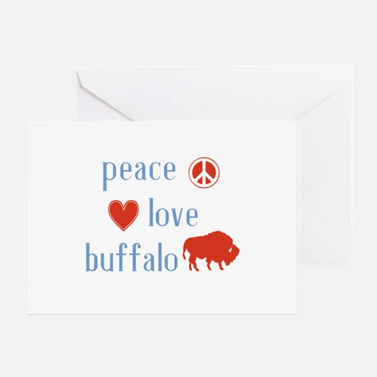 Buffalo Greeting Card