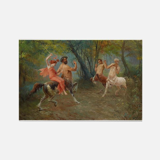 Centaurs in Love and War Rectangle Magnet
