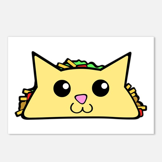 Taco Cat Postcards (Package of 8)