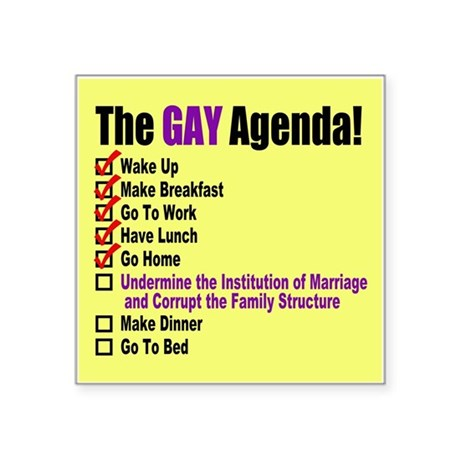 from Nash gay marriage agenda
