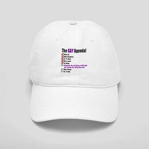 Gay Agenda Marriage Baseball Cap