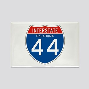 Interstate 44 - OK Rectangle Magnet