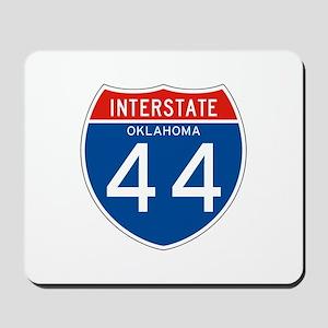 Interstate 44 - OK Mousepad