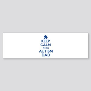 Keep Calm I'm An Autism Dad Sticker (Bumper)