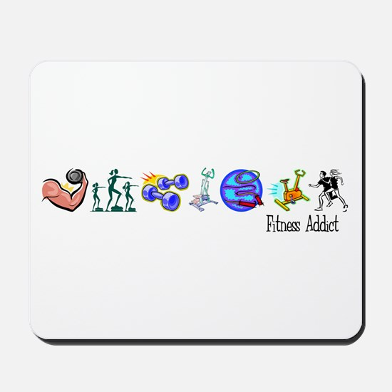 Fitness Addict Mousepad