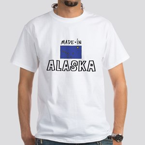 made in Alaska White T-Shirt