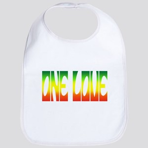One Love Reggae Bib