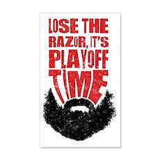 Playoff Beard, Hockey, Baseball Wall Decal