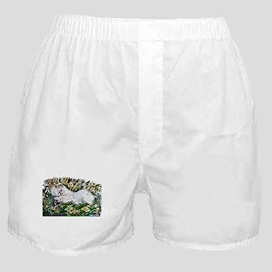 Sealyham in Daffodils Boxer Shorts