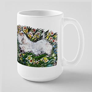 Sealyham in Daffodils Mug