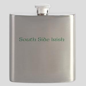 South Side Irish Flask