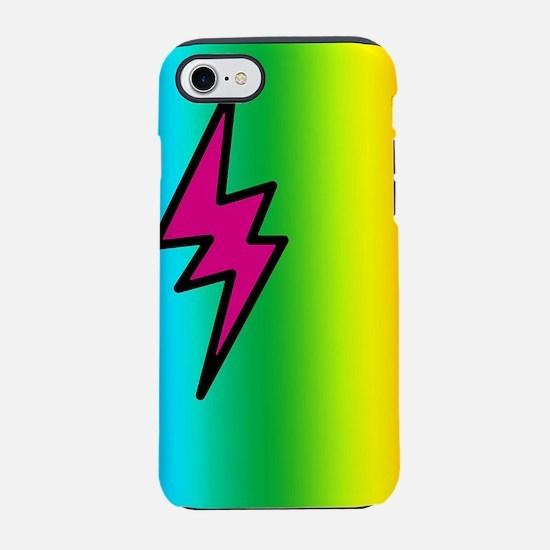 Rainbow Thunder iPhone 7 Tough Case