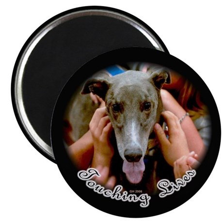GREYHOUNDS TOUCHING LIVES MAGNET