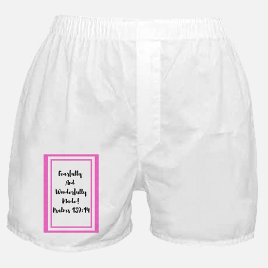 Funny Fearfully and wonderfully made Boxer Shorts
