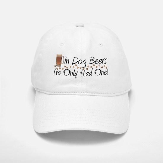 In Dog Beers Baseball Baseball Cap
