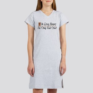 In Dog Beers Women's Nightshirt