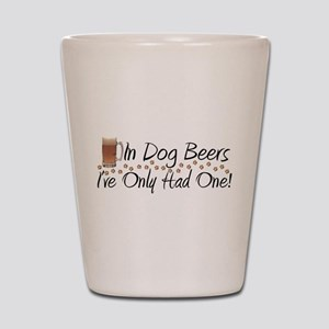 In Dog Beers Shot Glass