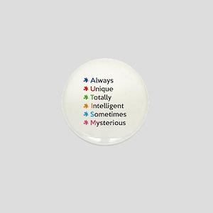 AUTISM Mini Button