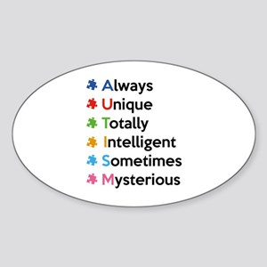 AUTISM Sticker (Oval)